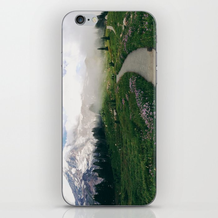 Mt Rainier Path iPhone Skin