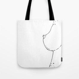 Breast Tote Bag