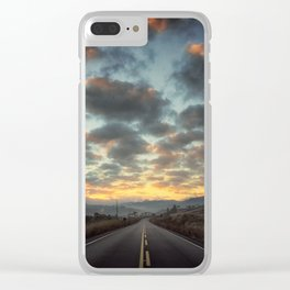 Road to Sunrise Clear iPhone Case