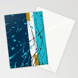 Turquoise dreams Stationery Cards