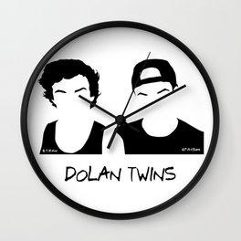 dolan twin Wall Clock