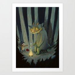 Tall Tales Art Print