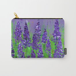 Fields of Lupine - Flowers Carry-All Pouch