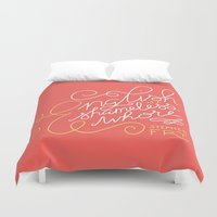 shameless Duvet Covers featuring English is a Shameless Whore, Stephen Fry by A Rose Cast
