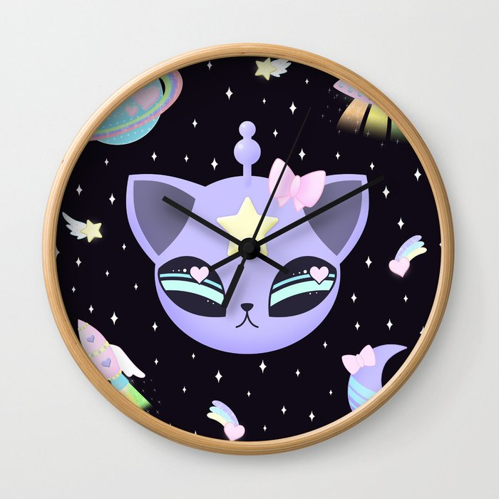 Space Cutie Wall Clock