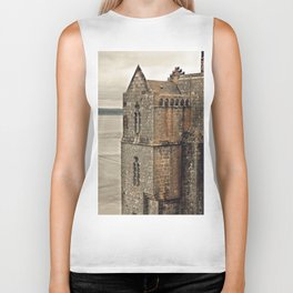 Mont St. Michel - Square Tower - Brittany France Biker Tank