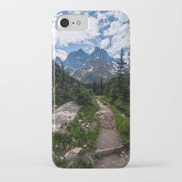 Teton Canyon, Grand Teton National Park iPhone Case