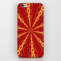 novelty iPhone & iPod Skins featuring FALL KALEIDOSCOPE  by Teresa Chipperfield Studios