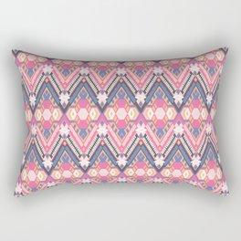Cotton Candy Field Rectangular Pillow