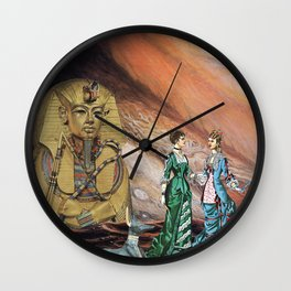 Friends of Anubis Wall Clock