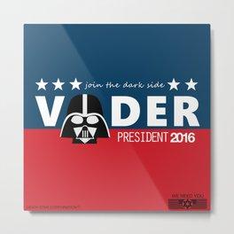 Death Star needs you ! Metal Print