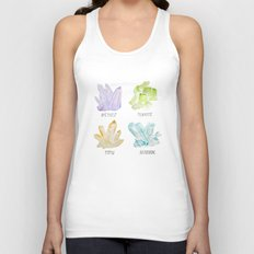 Rock collector Unisex Tank Top
