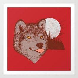 Spirit Derp Art Print