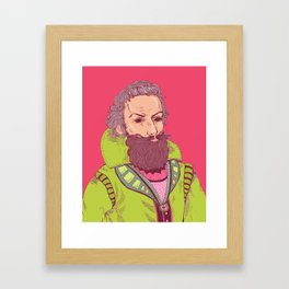 John Smith is Watching Framed Art Print