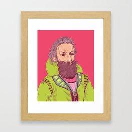 John Smith is Watching Framed Art Print