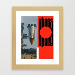Chaos/Space Framed Art Print