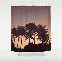florida Shower Curtains featuring Florida by Whitney Retter