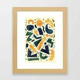 Pattern № 96 Framed Art Print