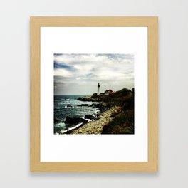 Portland Maine Framed Art Print