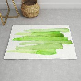 Green Abstract Rug