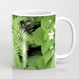 Maidenhair Fern, Adiantum Pedatum, And Friends Coffee Mug