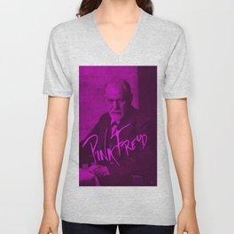 Pink Freud Unisex V-Neck