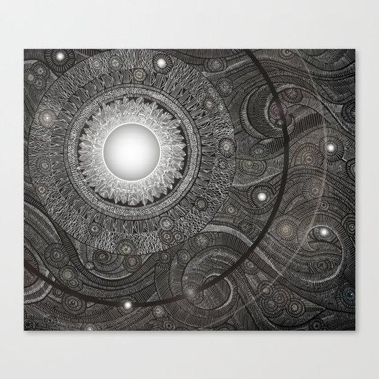 Luna Kiss Canvas Print