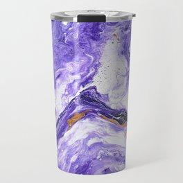 Chevron Amethyst 1 Travel Mug