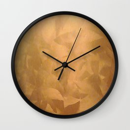Brushed Copper Metallic Paint - What Color Goes With Copper - Corbin Henry Wall Clock