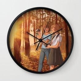 Max and Kate Wall Clock