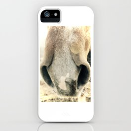 Curious Nose iPhone Case