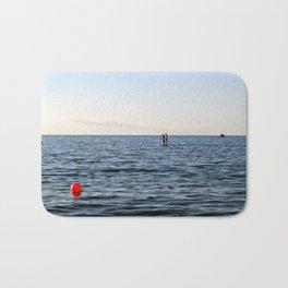 Baltic Sea - Warnemuende Beach  Bath Mat