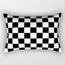Checks and Balances Rectangular Pillow