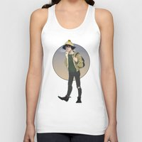grantaire Tank Tops featuring Grantaire  by icarusdrunk