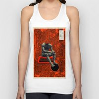 boxer Tank Tops featuring Boxer by Frank Moth