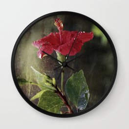 Flower Art II (two parts edition) Wall Clock