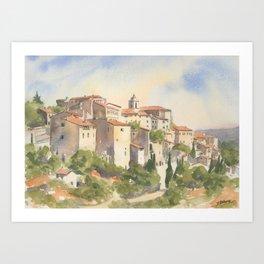 Gordes, France Art Print