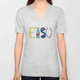 East Tennessee State University 2 Unisex V-Neck