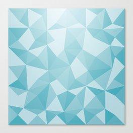 Geometric pyramids V3 Canvas Print