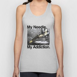 My Needle My Addiction  Unisex Tank Top