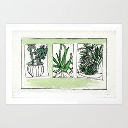Gifts of Plants Art Print