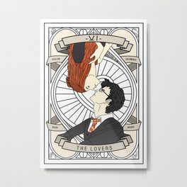Harry / Potter: Tarot Metal Print
