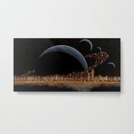 Coffee in Space 1 Metal Print
