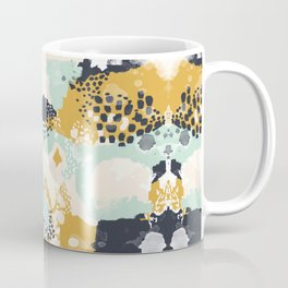 Tinsley - Abstract painting in bold, modern, bright colors Coffee Mug