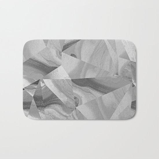 Irregular Marble II Bath Mat