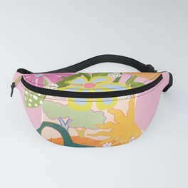 Colourful Garden Fanny Pack