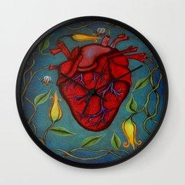 De Todo Corazón Wall Clock