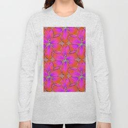 Flower Sketch 4 Long Sleeve T-shirt
