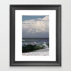 Atlantic Ocean Framed Art Print