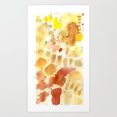 Watercolor texture II Art Print